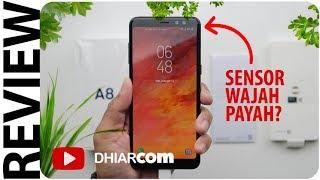 Review Samsung Galaxy A8 (2018) Indonesia, Sensor Wajah Payah?