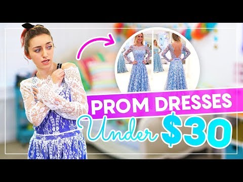 Xxx Mp4 Trying On PROM DRESSES UNDER 30 From AMAZON And EBAY Prom 3gp Sex