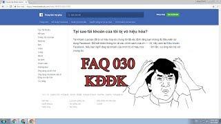 Cách report FAQ 030 [KĐĐK]