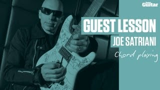 Joe Satriani Guest Lesson  Chord Playing Tg235