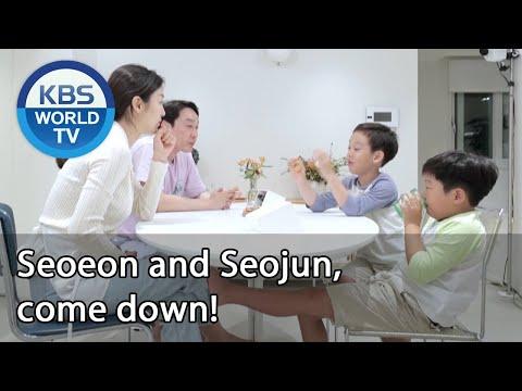 Seoeon and Seojun come down Stars Top Recipe at Fun Staurant ENG 2020.10.27