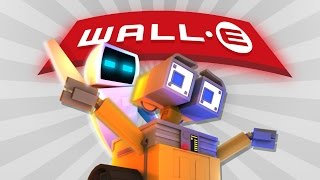Minecraft Parody - WALL-E! - (Minecraft Animation)