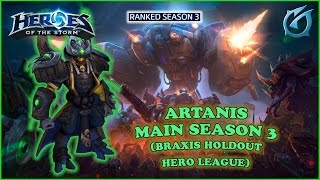 Grubby | Heroes of the Storm | Artanis - Artanis Maining for Season 3 - HL S3 - Braxis Holdout