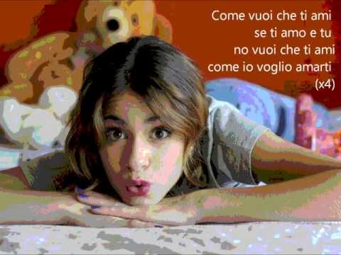 Violetta 2 Como quieres Traduzione