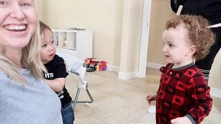 TERRIFIED OF CURLY HEADED TODDLER!