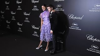 Priyanka Chopra and Nick Jonas reveal their summer plans at a party in Cannes