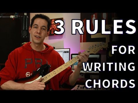 How To Write Chord Progressions - Songwriting Basics [Music Theory- Diatonic Chords]