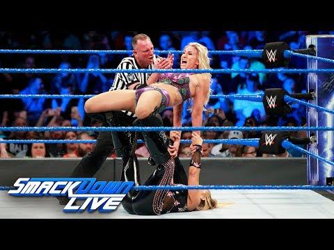 Xxx Mp4 Natalya Vs Charlotte Flair SmackDown Women S Championship Match SmackDown LIVE Nov 14 2017 3gp Sex