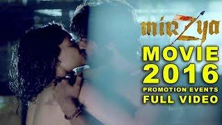 MIRZYA (2016) Promotion Events Full Video | Harshvardhan Kapoor | Saiyami Kher