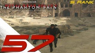 Metal Gear Solid 5 Phantom Pain - S Rank Walkthrough Part 57 - Escaped Children & Side OP 58