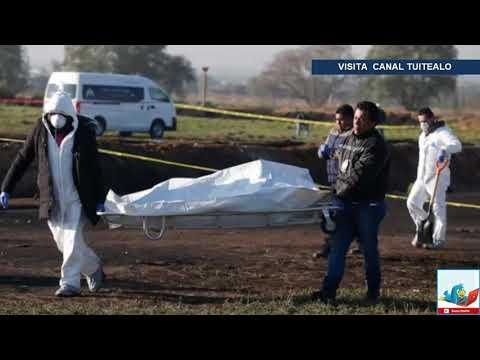 El mundo lamenta la tragedia en Tlahuelilpan Hidalgo