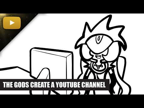 SMITE - The Gods Create a YouTube Channel (by Nevercake)
