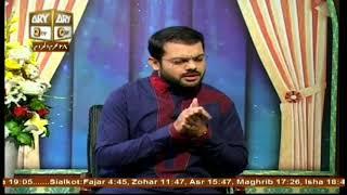 ASHRAF JAHANGIR SAMNANI (R.A) - 18th October 2017 - ARY Qtv