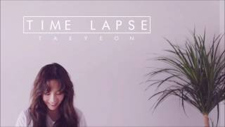 3d audio taeyeon and quot time lapse and quot