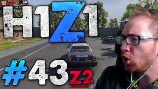 THE BOMBS ARE CHASING ME   H1Z1 Z2 Battle Royale #43