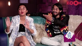 Bhuvan Bam & Prajakta Koli's fun answers in the game 'Quickie'   By Invite Only