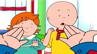 Funny Animated Cartoon Caillou | Caillou Show and Tell | funny animated cartoon