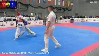 Taras Malchenko UKR - Vasyl Kotyash UKR