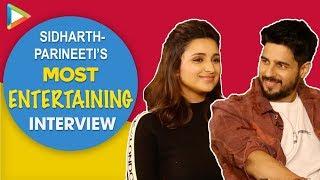 Sidharth-Parineeti's SUPERB Interview On Jabariya Jodi | Rapid Fire On SRK & Saif | Hilarious Quiz