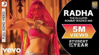 Radha (Remix) - Student of the Year | Alia|Sidharth | Varun | Karan Johar