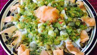 How to Make koog num pa Fish sauce shrimp ( LAO FOOD ) Home Made By Kaysone