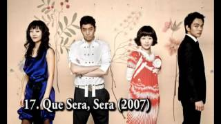 My Top 33 Korean Dramas - 2005-2012