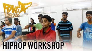 Rohan & Group Hip-hop Workshop