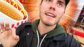 ORDERING THE CRAZIEST HOT DOG!!