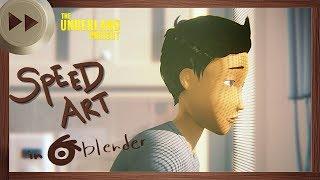 Gregor the Housekeeper - BLENDER SPEED ART