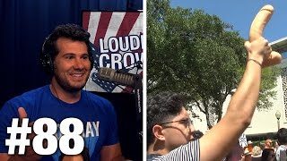 #88 #SJW FEMINISTS WITH ILLEGAL DILDOS! Curt Schilling and Ann McElhinney | Louder With Crowder
