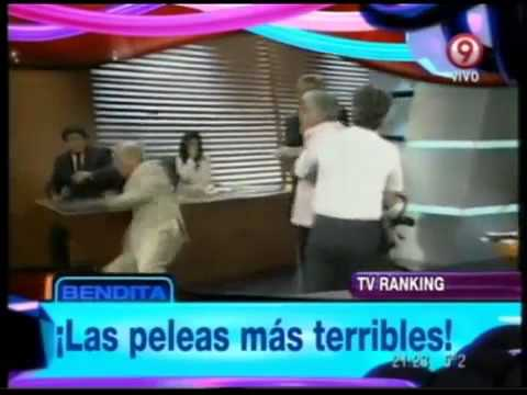 Bendita Las peleas más terribles de la TV