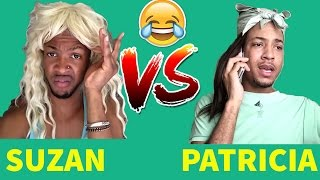 SUZAN (PRINCEMARNIE) VS PATRICIA (QUITEPERRY)   Viners ShowDown   Try Not To Laugh OR Grin