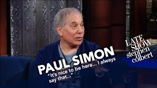 Paul Simon Is Donating Profits From His Tour