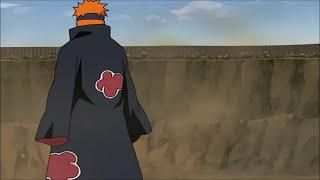 Das Gespräch zwischen Pain und Naruto über Gerechtigkeit und Frieden