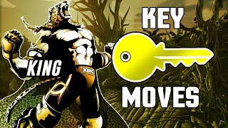 [TEKKEN 7] KING - KEY MOVES