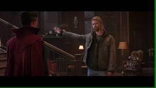 Thor Ragnarok: Doctor Strange Scene