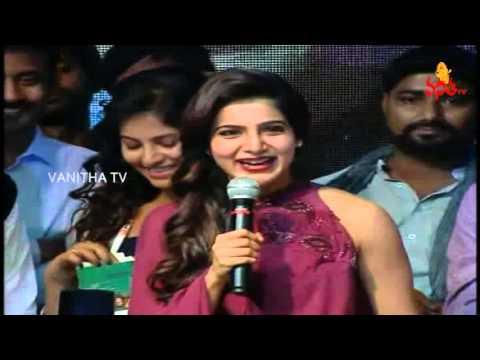 Actress Samantha Ruth Prabhu Speech at Sankarabharanam Movie Audio Launch | Nikhil | Kona Venkat
