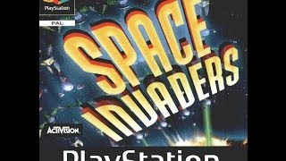 Space Invaders PS1 Longplay