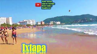 Playa Principal y Zona Hotelera de Ixtapa Guerrero