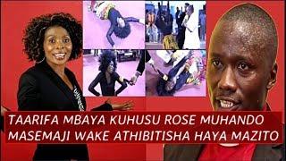 Taarifa Mbaya iliyotufikia asubuhi hii kuhusu Rose Muhando, Msemaji wake Athibitisha Kilichotokea