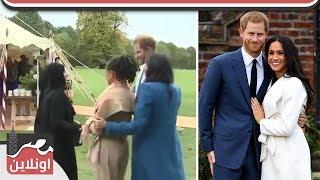 مواقف طريفة للملك هاري امرأه مسلمة تمنعه من تقبيلها وطفله تسرقة