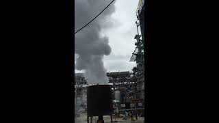 Steam Blowing a Macchi Boiler at NGHI SON REFINERY AND PETROCHEMICAL LLC Vietnam Steam Blowing