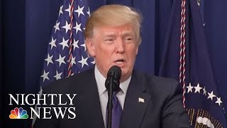 Donald Trump Blames Democrats For Looming Government Shutdown | NBC Nightly News
