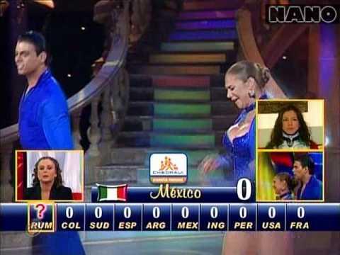Salsa México Lis Vega y Luis David de los Angeles Bailando por un Sueño 2CMB 23 05 10