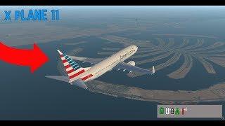 Landing at Dubai International Airport _ xplane 11[Ultra Realism]