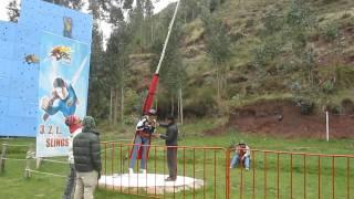 LANZAMIENTO SUPERMAN - CUZCO 2011