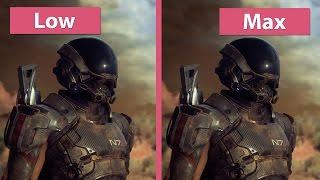 4K UHD | Mass Effect: Andromeda – PC Low vs. Medium vs. High vs. Max Graphics Comparison