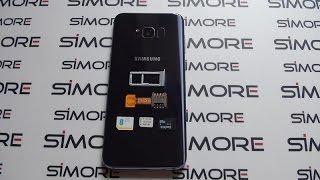 Dual SIM & SD Card simultaneously work on Samsung Galaxy S8+ Duos (Dual SIM Hybrid slot)