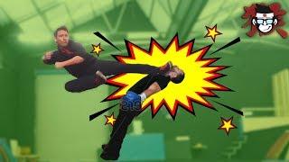 BEST OF MOVEMENT: BASIC HIGH IMPACT KICKING, Martial arts, Karate, Kyokushin, Tricks