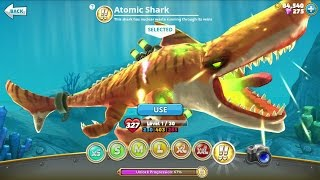 Hungry Shark World Atomic Shark Android Gameplay
